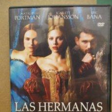 Cine: LAS HERMANAS BOLENA - NATALIE PORTMAN - SCARLETT JOHANSSON - ERIC BANA - DVD. Lote 277622663