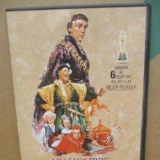 Cine: UN HOMBRE PARA LA ETERNIDAD - ORSON WELLES - ROBERT SHAW - DVD. Lote 277623448