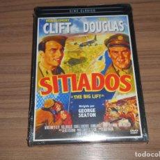 Cine: SITIADOS DVD MONTGOMERY CLIFT PAUL DOUGLAS NUEVA PRECINTADA. Lote 277717728
