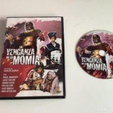 Cine: LA VENGANZA DE LA MOMIA. DVD. Lote 277730958