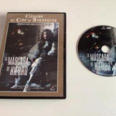 Cine: LA MÁSCARA DE HIERRO. . DVD. Lote 277735243