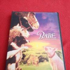 Cine: DVD BABE EL CERDITO VALIENTE - JAMES CROMWELL. Lote 277738058