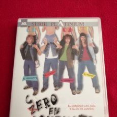 Cine: DVD CERO EN CONDUCTA - EDWARD FURLONG - GENE SIMMONS. Lote 277738323