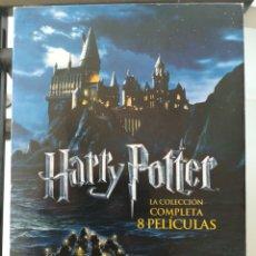 Cine: HARRY POTTER LA COLECCIÓN COMPLETA 8 PELÍCULAS DVD. Lote 277748473