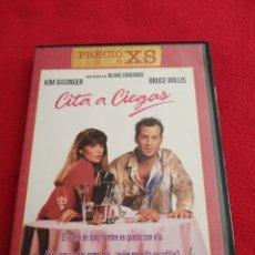 Cine: DVD CITA A CIEGAS - BLAKE EDWARDS - BRUCE WILLIS - KIM BASINGER - JOHN LARROQUETTE. Lote 277760103