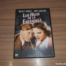 Cine: LOS HIJOS DE LA FARANDULA DVD MICKEY ROONEY JUDY GARLAND WARNER COMO NUEVA. Lote 278343648