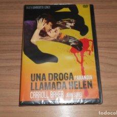 Cine: UNA DROGA LLAMADA HELEN DVD CARROL BAKER NUEVA PRECINTADA. Lote 278358083