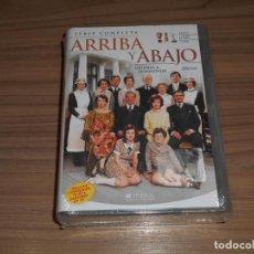 Cine: SERIE COMPLETA ARRIBA Y ABAJO 20 DVD + 5 CAPITULOS INEDITOS 57 HORAS NUEVA PRECINTADA. Lote 278411148