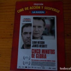 Cine: CINCO MINUTOS DE GLORIA, PELICULA DVD.. Lote 278417303