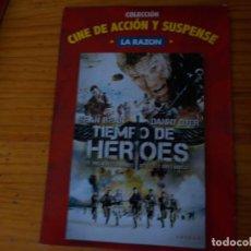 Cine: TIEMPO DE HERUES, PELICULA DVD.. Lote 278417403