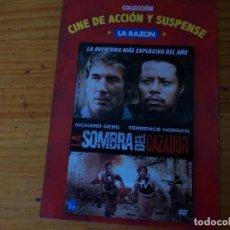 Cine: LA SOMBRA DEL CAZADOR, PELICULA DVD.. Lote 278417568