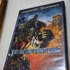 Cine: TRANSFORMERS Y TRANSFORMERS. 2 DVD. Lote 278417838