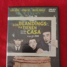 Cine: DVD LOS BLANDINGS YA TIENEN CASA - CARY GRANT - MYRNA LOY - MELVYN DOUGLAS. Lote 278418208