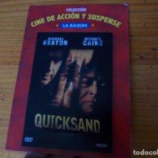 Cine: QUICKSAND, PELICULA DVD.. Lote 278418363