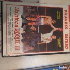 Cine: C-22 DVD YO HICE A ROQUE III ANDRES PAJARES Y FERNANDO ESTESO. Lote 278418388