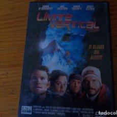 Cine: LIMITE VERTICAL, PELICULA DVD.. Lote 278418418
