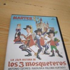 Cine: M-12 DVD CINE LA LOCA HISTORIA DE LOS 3 MOSQUETEROS - MARIANO OZORES MARTES Y 13 ANTONIO OZORES. Lote 278512153