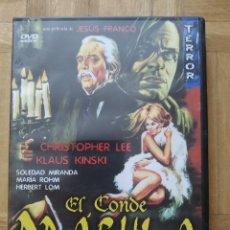 Cine: PELICULA DVD EL CONDE DRACULA DE JESUS FRANCO CHRISTOPHER LEE KLAUS KINSKI SOLEDAD MIRANDA. Lote 278592813
