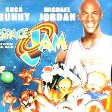 Cine: SPACE JAM 1996 DVD ORIG MICHAEL JORDAN BUGS BUNNY WARNER. Lote 278663548