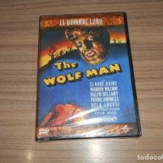 Cine: EL HOMBRE LOBO THE WOLF MAN DVD 1941 LON CHANEY UNIVERSAL NUEVA PRECINTADA. Lote 278688923