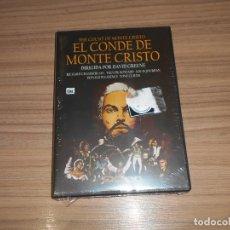 Cine: EL CONDE DE MONTECRISTO DVD TREVOR HOWARD RICHARD CHAMBERLAIN TONY CURTIS NUEVA PRECINTADA. Lote 278689393
