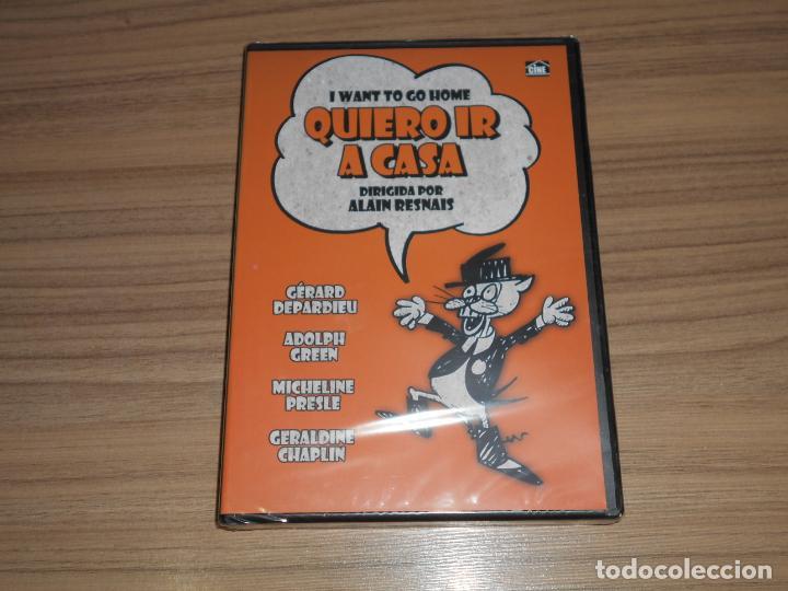 QUIERO IR A CASA DVD GERARD DEPARDIEU NUEVA PRECINTADA (Cine - Películas - DVD)