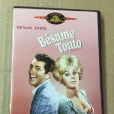 Cine: BÉSAME TONTO, BILLY WILDER. DVD COMO NUEVO. Lote 278964003