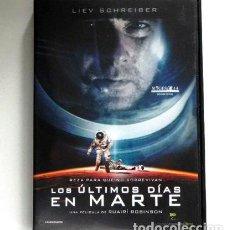 Cine: LOS ÚLTIMOS DÍAS EN MARTE DVD PELÍCULA TERROR CIENCIA FICCIÓN ROBINSON GARAI HARRIS BASE PLANETA EXT. Lote 278964493