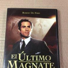Cine: EL ÚLTIMO MAGNATE, ROBERT DE NIRO. COMO NUEVO. Lote 278966358