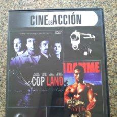 Cine: DVD -- COP LAND / KICKBOXER -- CAJA FINA --. Lote 278966873