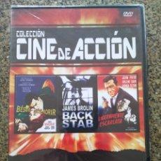 Cine: DVD -- BESAME ANTES DE MORIR / BACK STAB / LIGERAMENTE ESCARLATA __ CAJA FINA PRECINTADA --. Lote 278967353