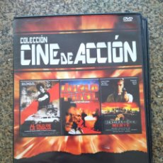 Cine: DVD -- AL FILO DE LA NAVAJA / DUELO FINAL / MENTIRAS DE LA MENTE -- CAJA FINA --. Lote 278967483