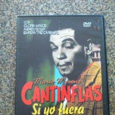 Cine: DVD -- SI YO FUERA DIPUTADO -- CANTINFLAS -- CAJA FINA --. Lote 278967813