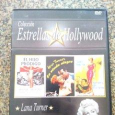 Cine: DVD -- EL HIJO PRODIGO / LA VIUDA ALEGRE / BROTES DE PASION -- CAJA FINA --. Lote 278968003