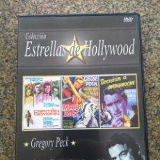 Cine: DVD -- CAPITAN NEWMAN / MOBY DICK / DECISION A MEDIANOCHE -- CAJA FINA --. Lote 278968693