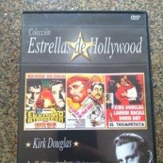 Cine: DVD -- EL ULTIMO ATARDECER / EL LOCO DEL PELO ROJO / EL TROMPETISTA -- CAJA FINA --. Lote 278968948