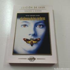 Cine: EL SILENCIO DE LOS CORDEROS - EDOCION DE LUJO 2 DISCOS. Lote 278970883