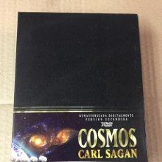 Cine: COSMOS, DE CARL SAGAN. 7 DVD'S, REMASTERIZADA, VERDION EXTENDIDA. Lote 278972483