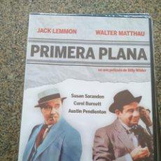 Cine: DVD -- PRIMERA PLANA -- JACK LEMMON Y WALTER MATTHAU -- CAJA FINA PRECINTADA --. Lote 278973108