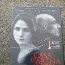 Cine: DVD -- CASA DE ARENA Y NIEBLA -- JENNIFER CONNELLY Y BEN KINGSLEY -- CAJA FINA PRECINTADA --. Lote 278973168