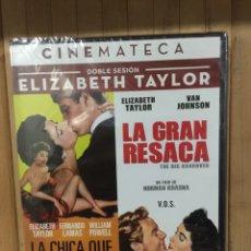 Cine: LA CHICA QUE LO TENIA TODO + LA GRAN RESACA ( VOSE) DVD - PRECINTADO -. Lote 278981678