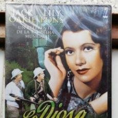 Cine: LA DIOSA DE LA SELVA, DVD, NUEVO Y PRECINTADO. Lote 278982173