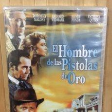 Cine: EL HOMBRE DE LAS PISTOLAS DE ORO DVD - PRECINTADO -. Lote 278982913