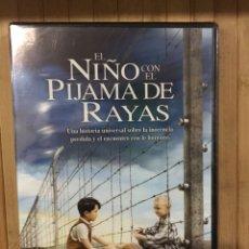 Cine: EL NIÑO CON EL PIJAMA DE RAYAS DVD - PRECINTADO -. Lote 278983003