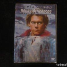 Cine: AGUAS PELIGROSAS - KEVIN BACON - CASI IMPOSIBLE ENCONTRARLA PRECINTADA - DVD NUEVO PRECINTADO. Lote 279325408