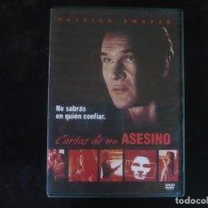 Cine: CARTAS DE UN ASESINO - CON PATRICK SWAYZE - DVD COMO NUEVO. Lote 279325518