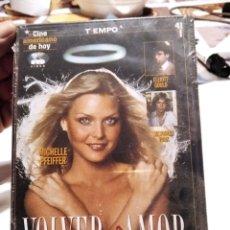 Cine: DVD CINE VOLVER AL AMOR. Lote 279325578