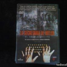 Cine: LA SECRETARIA DE HITLER EL ANGULO MUERTO - DVD COMO NUEVO. Lote 279325588