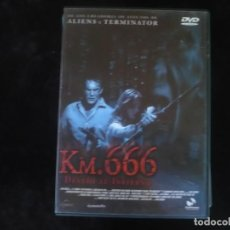 Cine: KM. 666 DESVIO AL INFIERNO - DVD COMO NUEVO. Lote 279325678