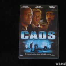 Cine: CAOS - CON JASON STATHAM - DVD COMO NUEVO. Lote 279325803